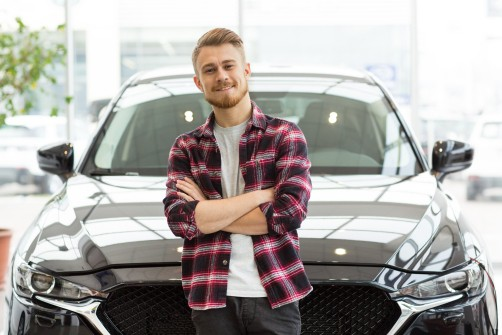 Client satisfied with his auto loan